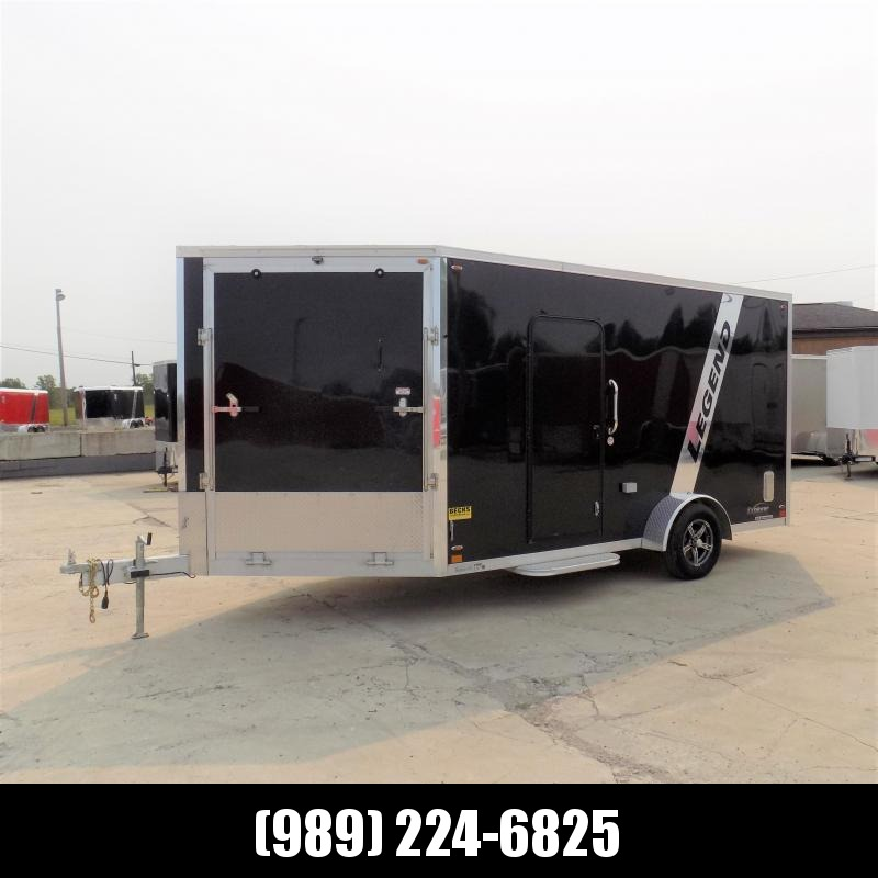 Used 2020 Legend Trailers Explorer 7' x 19' Aluminum Snowmobile Trailer - 2020 Model & Like New!