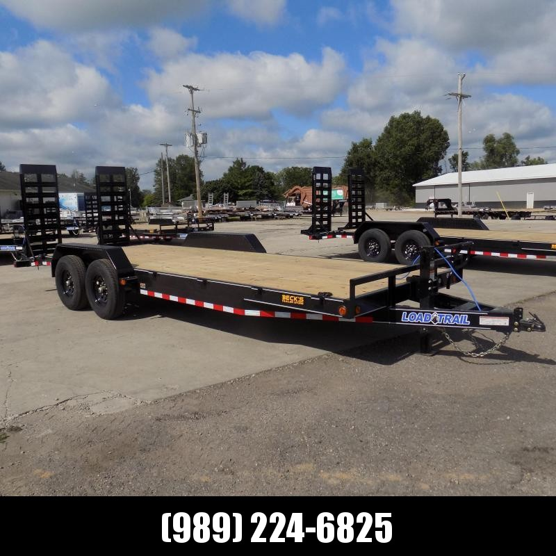 """New Load Trailer 83"""" x 22' Open Car Hauler/Equipment Trailer For Sale With 7K Axles- $0 Down & Payments from $129/mo. W.A.C."""