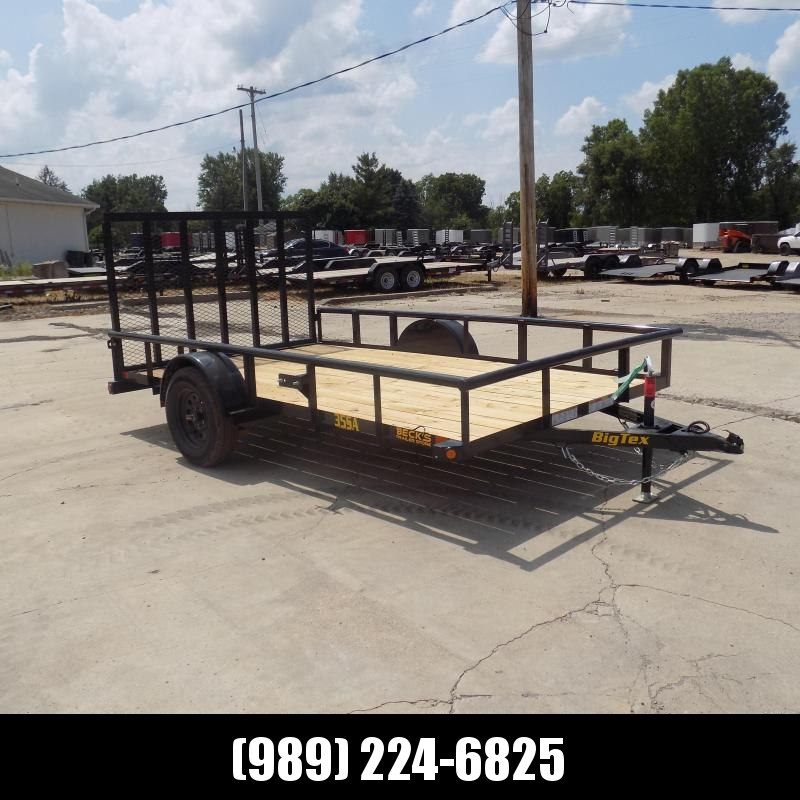 New Big Tex Trailers 7' x 12' Open Utility Trailer For Sale