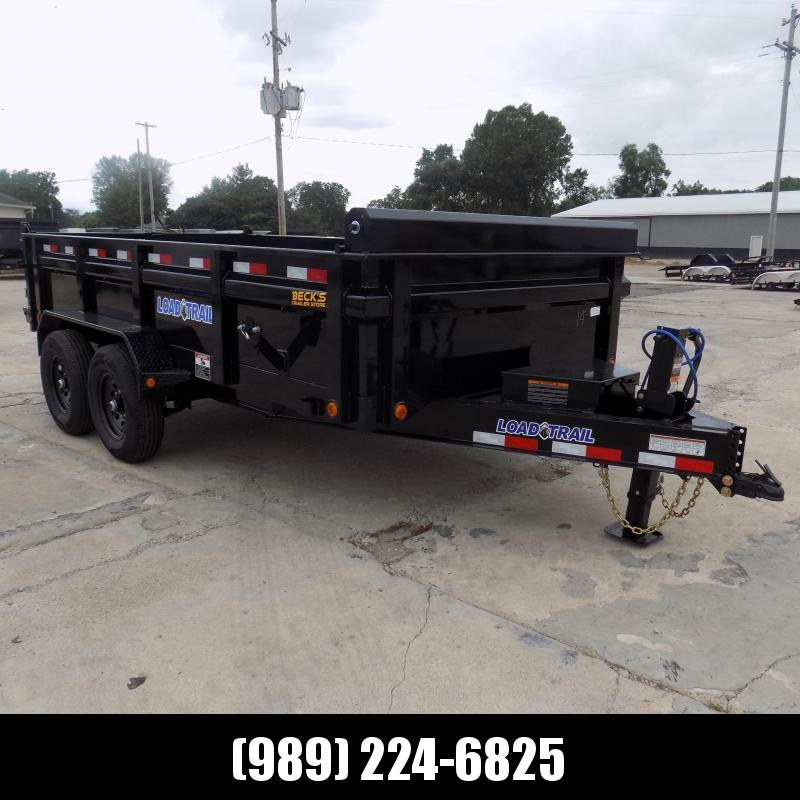 """New Load Trail 83"""" x 14' Dump Trailer for Sale - $0 Down & Payments from $159/mo. W.A.C."""