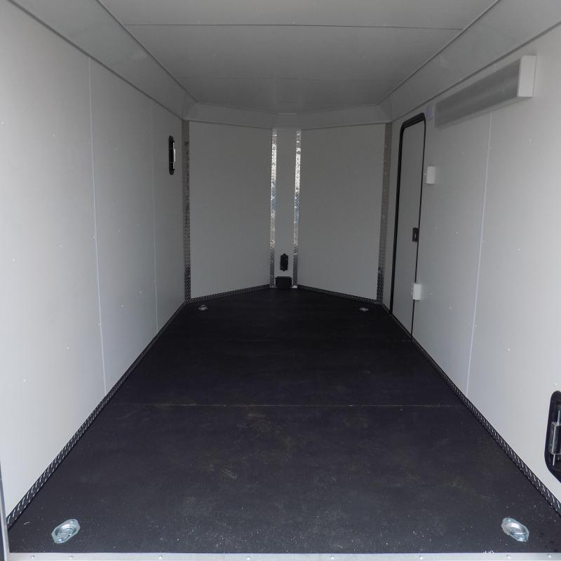 New Legend Deluxe V Nose 7' X 15' All Aluminum Cargo Trailer For Sale - $0 Down & Payments from $119/mo. W.A.C.