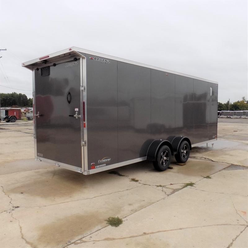 New Legend Explorer 7' x 27' Snowmobile Trailer - $0 Down & Payments From $169/mo. W.A.C - Come See America's Largest Snow/ATV Trailer Inventory!