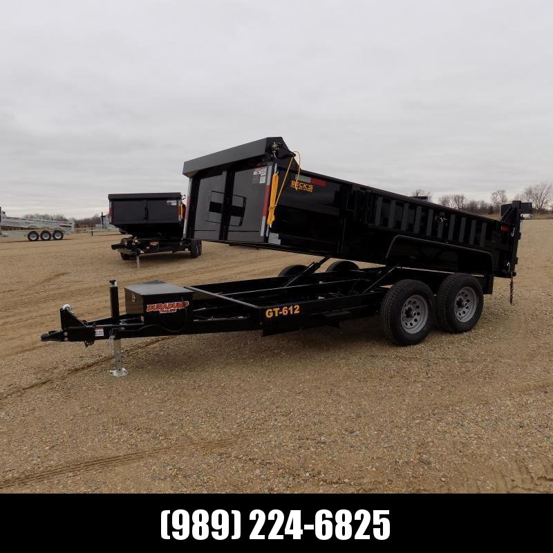 New DuraDump 6' x 12' Dump Trailer For Sale - $0 Down & Payments FRom $113/mo. W.A.C.