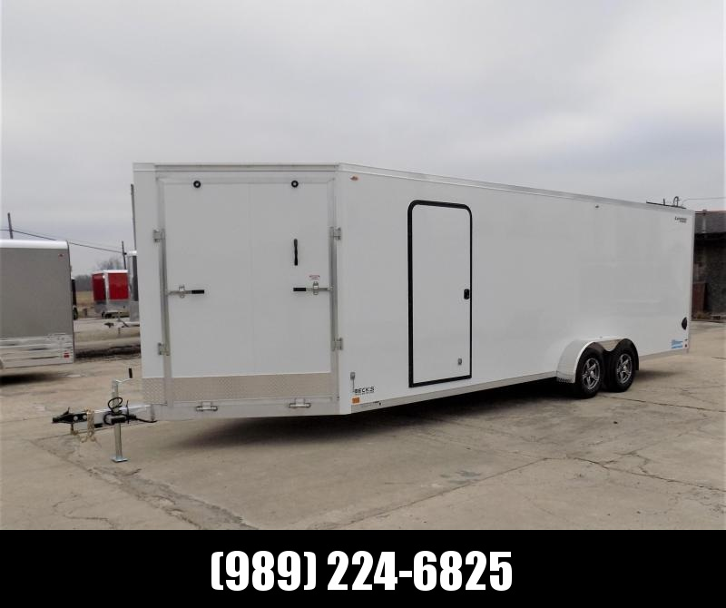 New Legend Thunder 7' x 29' Aluminum Snowmobile Trailer - $0 Down & Payments From $136/mo. W.A.C. - America's Largest Selection Of Snow Trailers