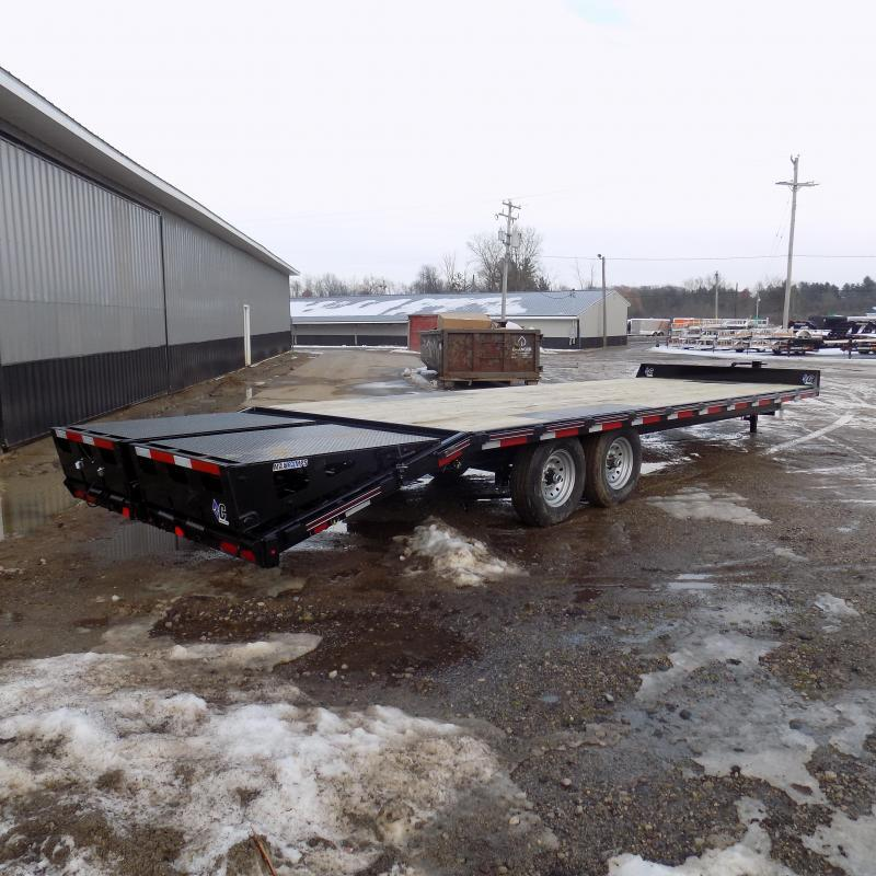 """New Diamond C DEC 102"""" x 26' Deckover Equipment Trailer With Max Ramps - $0 Down & Payments From $125/mo. W.A.C."""