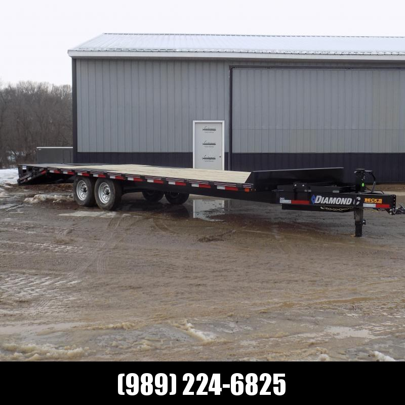 "New Diamond C DEC 102"" x 26' Deckover Equipment Trailer With Max Ramps - $0 Down & Payments From $125/mo. W.A.C."