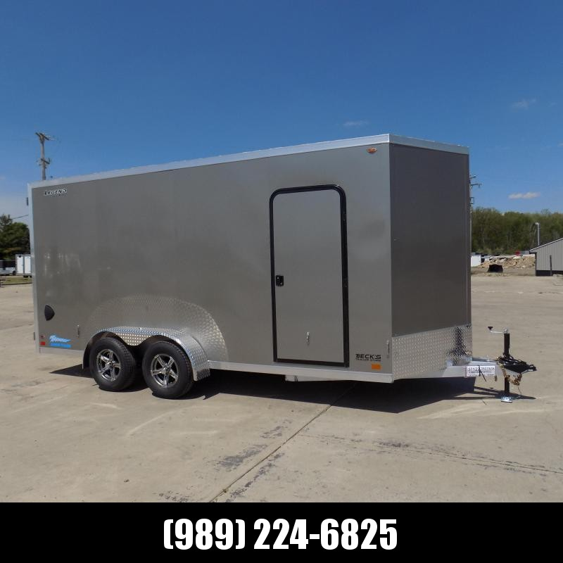 New Legend Thunder 7' x 18' Aluminum Enclosed Cargo For Sale - $0 Down Financing Available