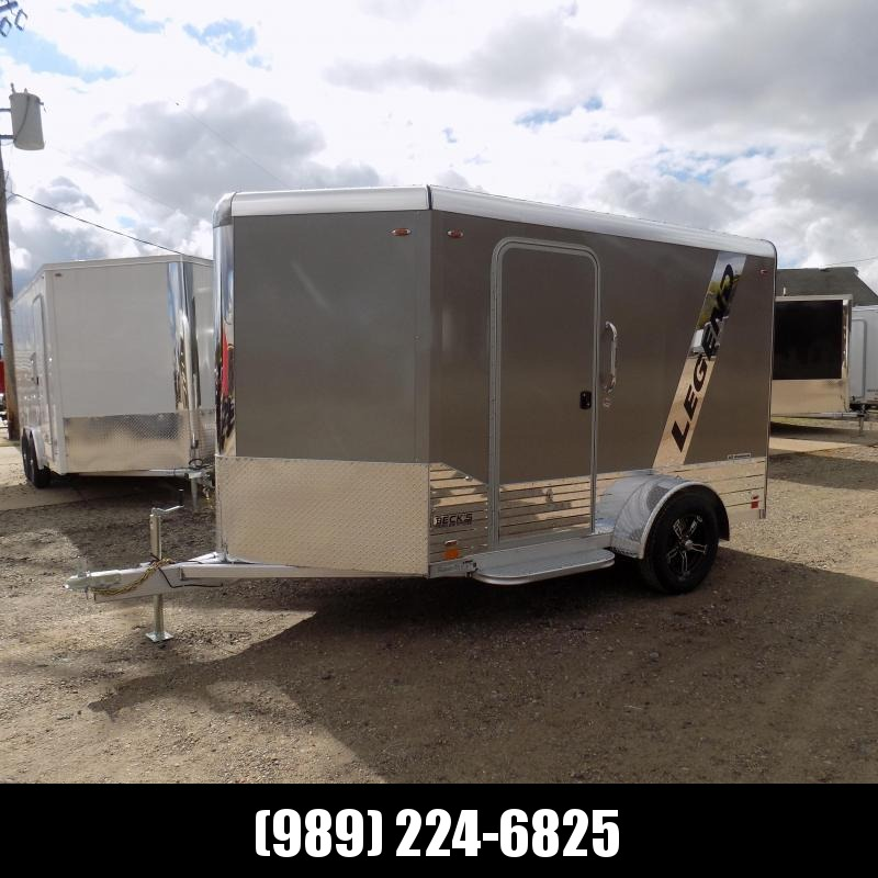 New Legend Deluxe V Nose 6' X 13' All Aluminum Cargo Trailer For Sale - $0 Down & Payments from $107/mo. W.A.C.