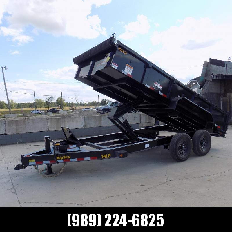 """New Big Tex 83"""" x 16' Low Profile Dump Trailer - $0 Down & Payments From $159/mo. W.A.C."""