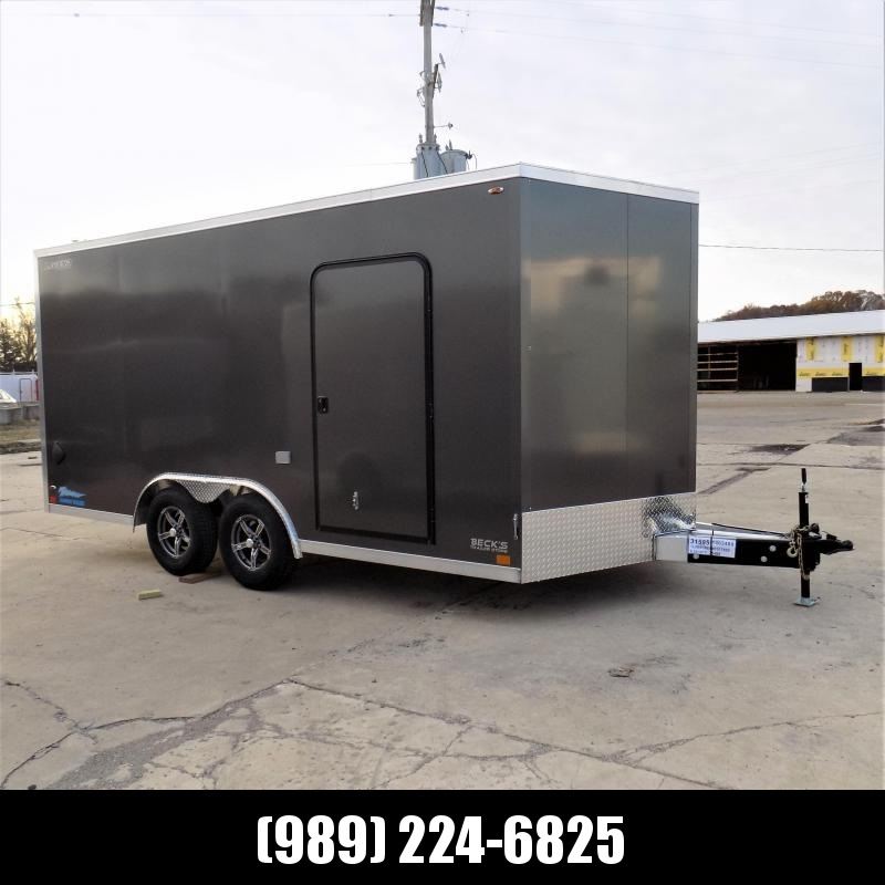 New Legend Thunder 8.5' X 18' Aluminum Enclosed Cargo Trailer - $0 Down & Payments From $135/mo. W.A.C.