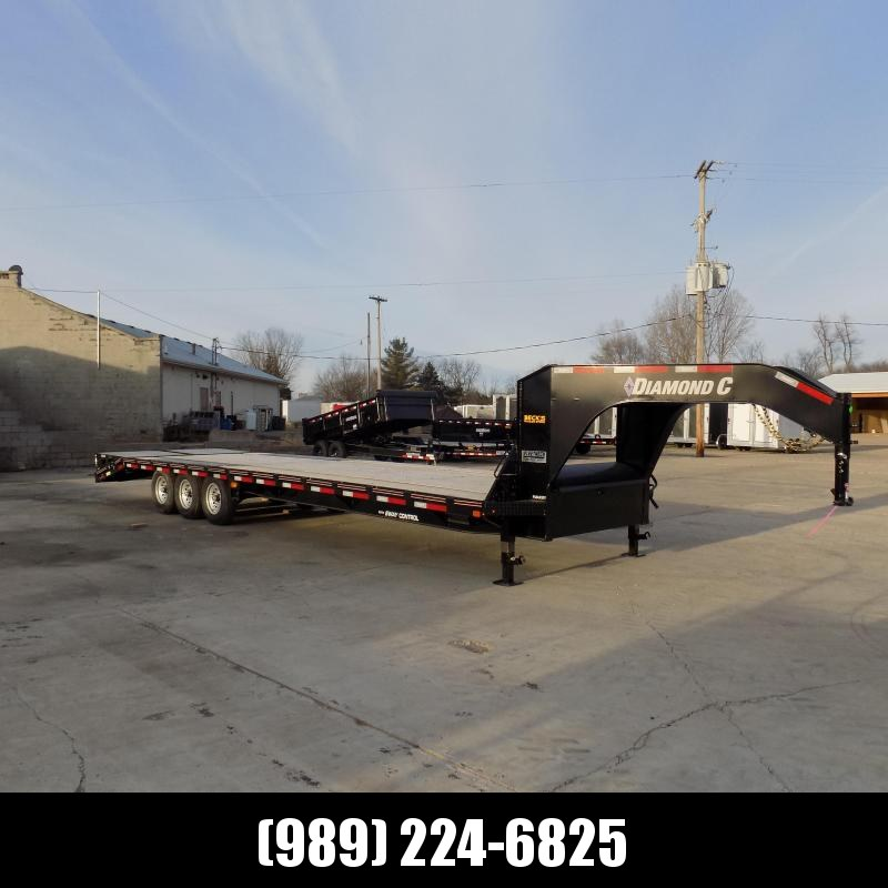 """New Diamond C Trailers 102"""" x 32' Gooseneck Equipment Trailer With 24K Weight Rating - $0 Down Financing Available"""