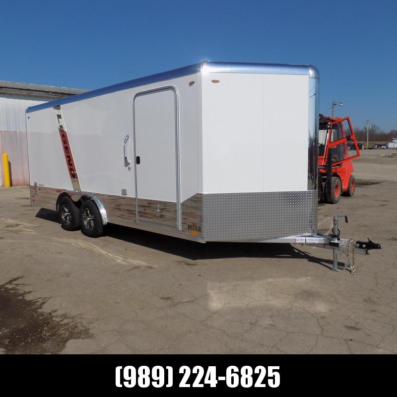 New Legend Deluxe V-Nose 8' x 21' Enclosed Cargo Trailer - $0 Down & $139/mo. W.A.C. - SOLD