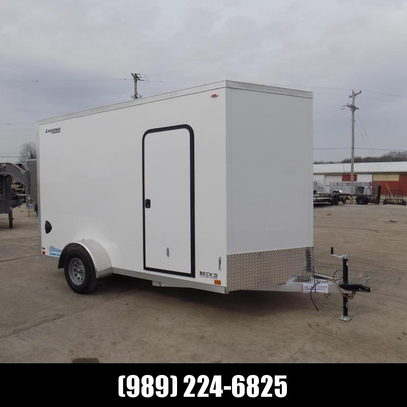 New Legend Thunder 7' X 14' Aluminum Enclosed Cargo Trailer For Sale-$0 Down Payments From $105/mo W.A.C.