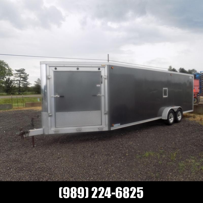 Used Legend Trailmaster 7' x 27' Snowmobile Trailer For Sale