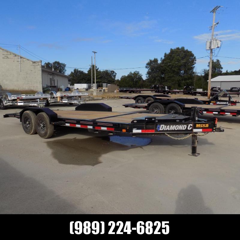 "New Diamond C HDT 82"" x 20' Tilt Deck Equipment Trailer -Torsion Axles - Flexible $0 Down Financing Options Available"