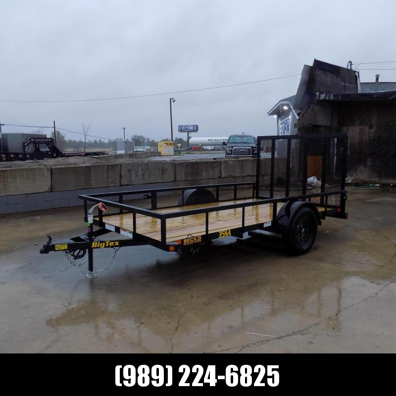 """New Big Tex 77"""" x 12' Utility Trailer For Sale - $0 Down & Payments From $69/mo. W.A.C."""