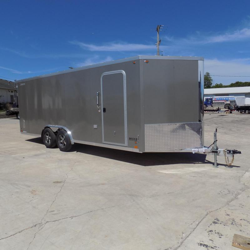 New Legend FTV 8' x 23' Heavy Duty Aluminum Cargo Trailer - $0 Down Financing Available - LOADED!