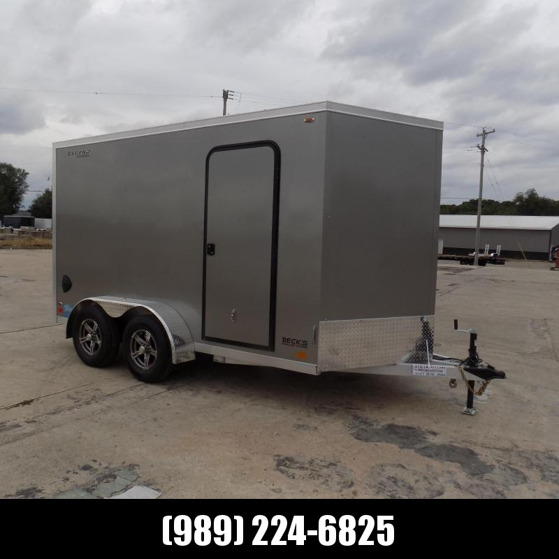 New Legend Thunder 7' x 14' Aluminum Enclosed Cargo Trailer for Sale- $0 Down Payments From $117/Mo W.A.C.
