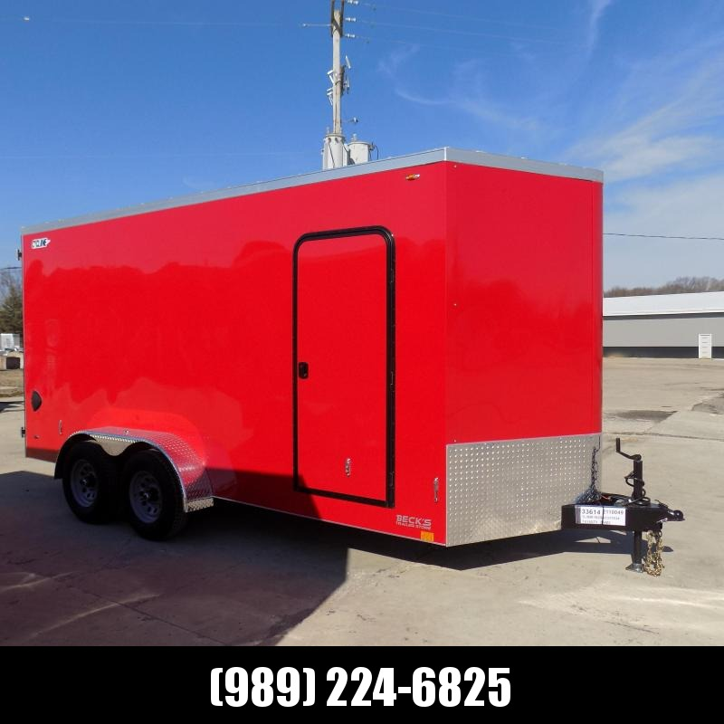 New Legend Trailers Legend Cyclone 7' x 18' Enclosed Cargo Trailer With 5200# Axles - $0 Down & Payments From $127/mo. W.A.C.