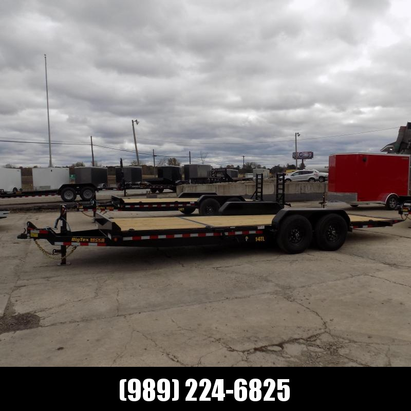 """New Big Tex 80"""" x 22' Tilt Deck Equipment Trailer For Sale - $0 Down & Payments From $125/mo. W.A.C."""