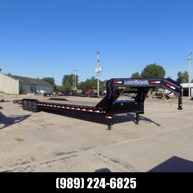 """New Load Trail 102"""" x 40' Gooseneck Car Hauler For Sale - Triple Axle - $0 Down Financing Available"""