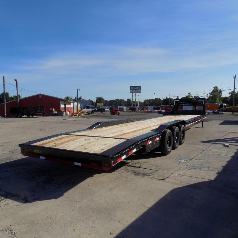 "New Load Trail 102"" x 40' Gooseneck Car Hauler For Sale - Triple Axle - $0 Down Financing Available"