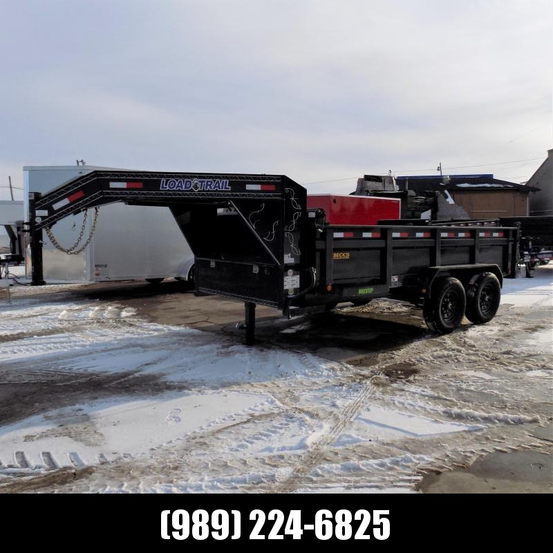 New Load Trail 7' x 14' Gooseneck Dump Trailer - $0 Down & Payments from $149/mo. W.A.C.
