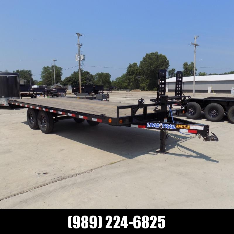 """New Load Trail 102"""" x 20' Deckover Equipment Trailer For Sale - $0 Down & Payments from $139/Mo W.A.C"""
