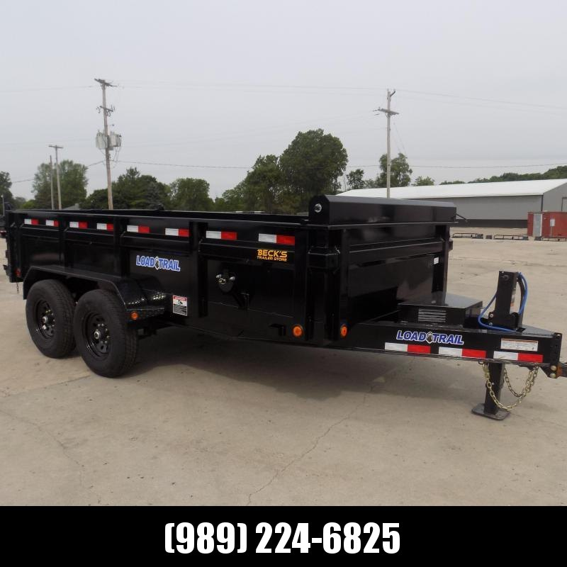 """New Load Trail 83"""" x 14' Dump Trailer for Sale - $0 Down & Payments from $155/mo. W.A.C."""