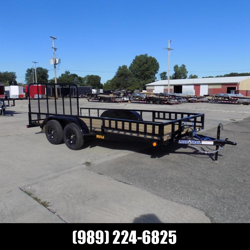 "New Load Trail 83"" x 16' Utility/Landscape Trailer For Sale - $0 Down & Payments From $79/mo W.A.C."