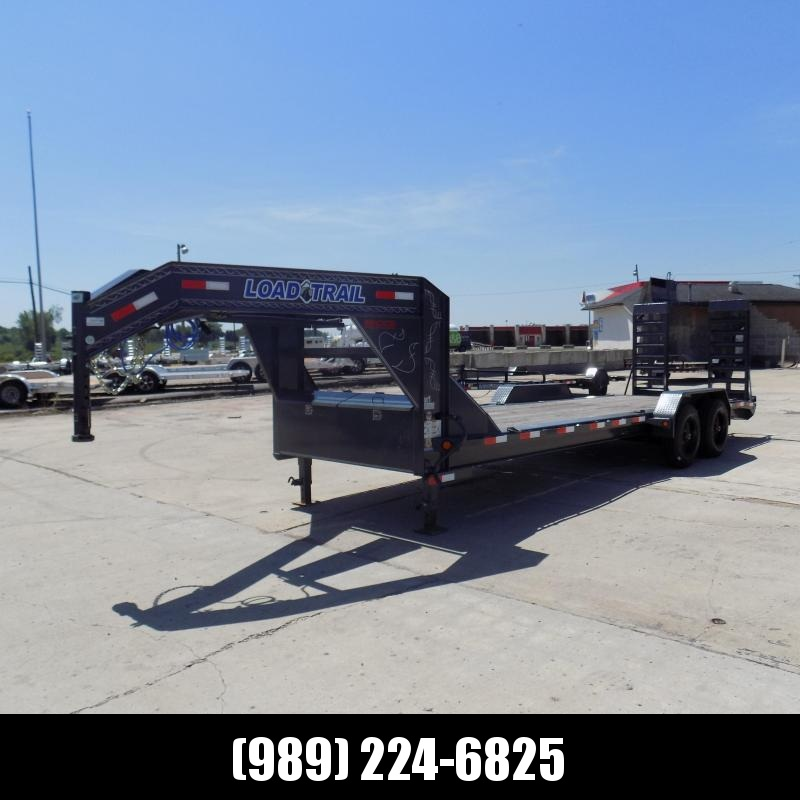 """New Load Trail 82"""" x 24' Gooseneck Equipment Trailer With 10K Torsion Axles - $0 Down Finacing Available"""