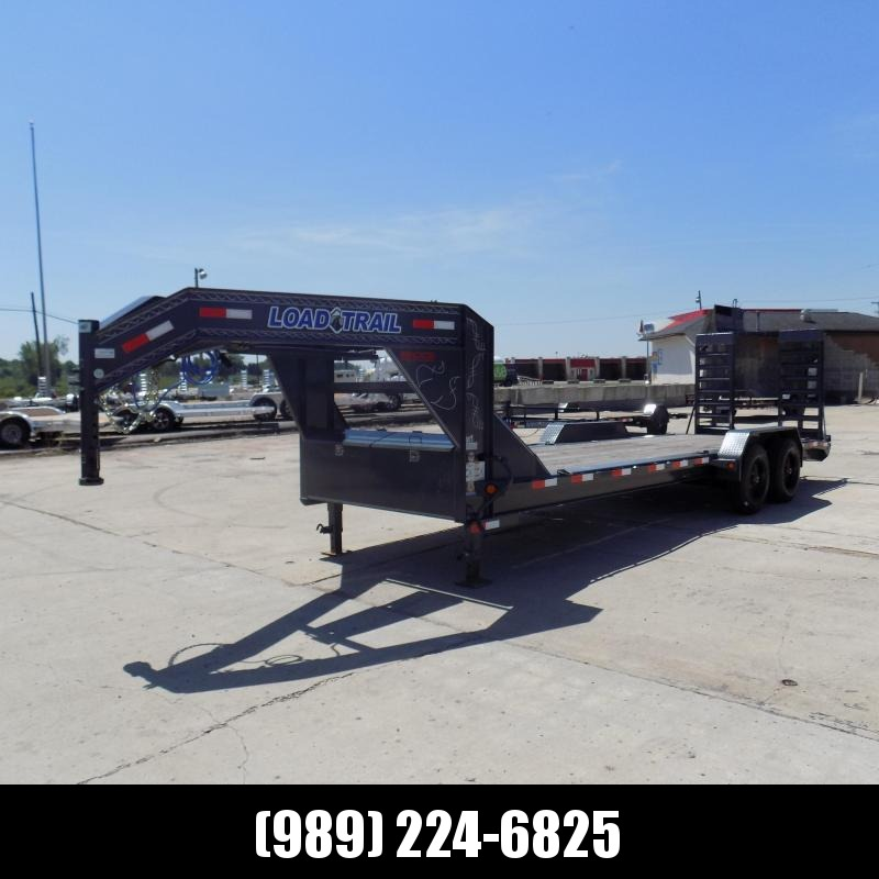 "New Load Trail 82"" x 24' Gooseneck Equipment Trailer With 10K Torsion Axles - $0 Down Finacing Available"