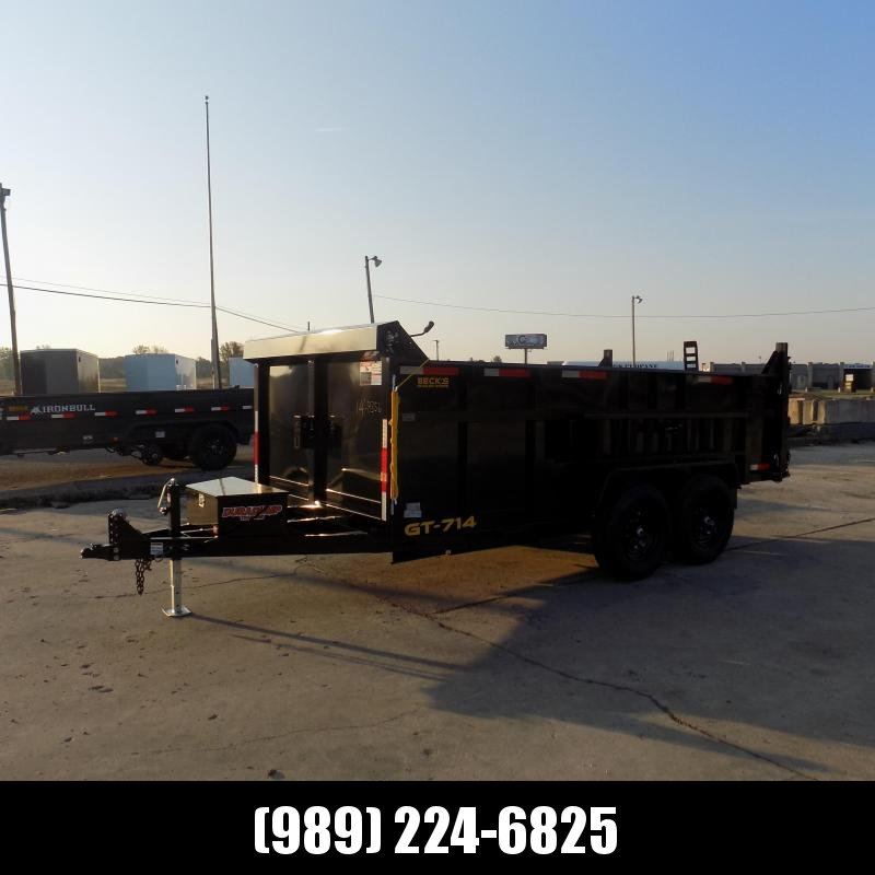 New DuraDump 7' x 14' Dump Trailer For Sale - Payment From $157/mo. With $0 Down W.A.C.