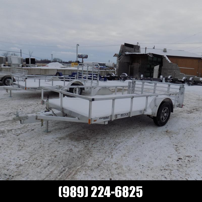 New Legend Open Deluxe 7' x 12' Aluminum Utility Trailer - $0 Down & Payments From $79/mo. W.A.C.