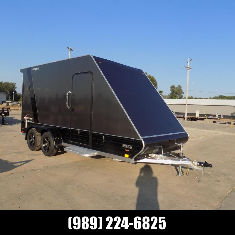 New Legend All Sport Deluxe 7' X 17' All Aluminum Cargo Trailer - $0 Down with Financing Options Available