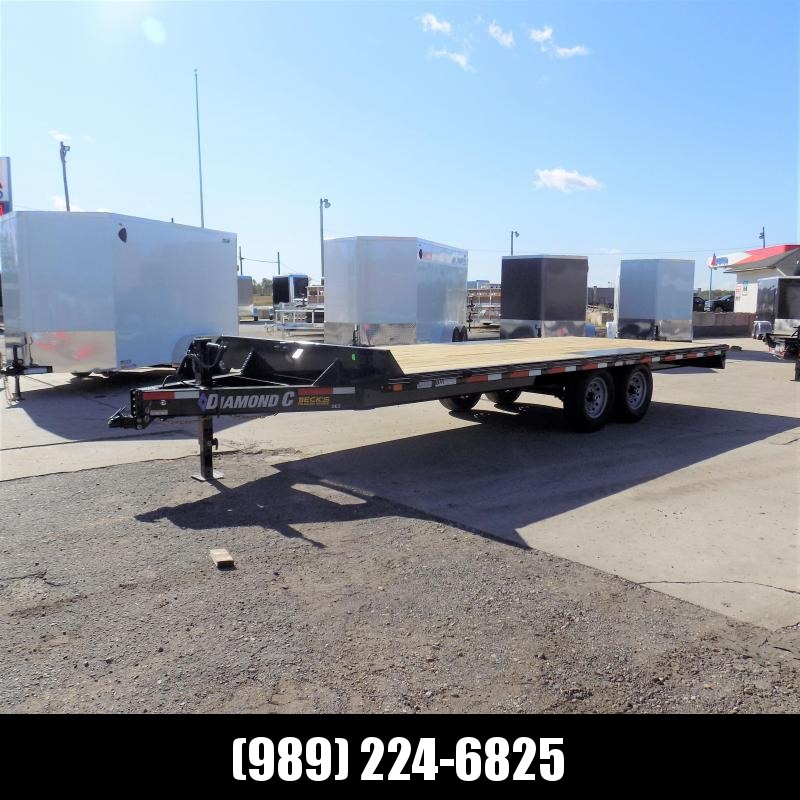 "New Diamond C Trailers 102"" x 20' Deckover Equipment Trailer For Sale - $o Down & Payments From $119/mo. W.A.C."