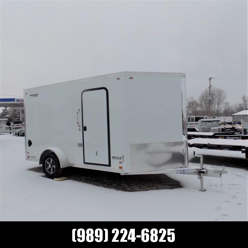New Legend FTV 7' x 15' Aluminum Enclosed Cargo Trailer - Best Built Cargo Trailer - $0 Down & Payments From $109/mo. W.A.C.
