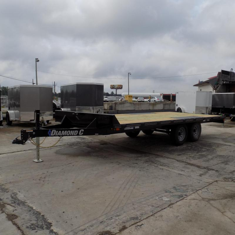 "Diamond C Trailers 102"" x 18' Deckover Equipment Trailer For Sale"
