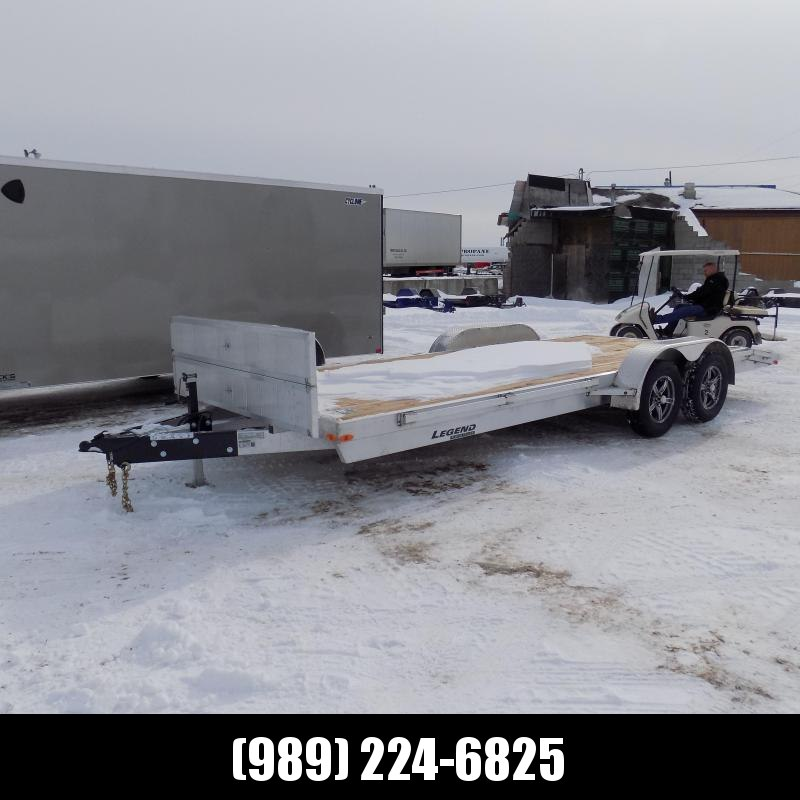 New Legend 7' x 20' Aluminum Open Car Hauler - Torsion Axles - $0 Down & Payments From $113/mo. W.A.C.