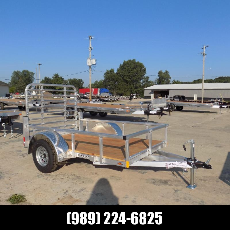 New Legend Open Deluxe 5' x 8' Aluminum Utility - $0 Down & Payments From $65/mo. W.A.C.