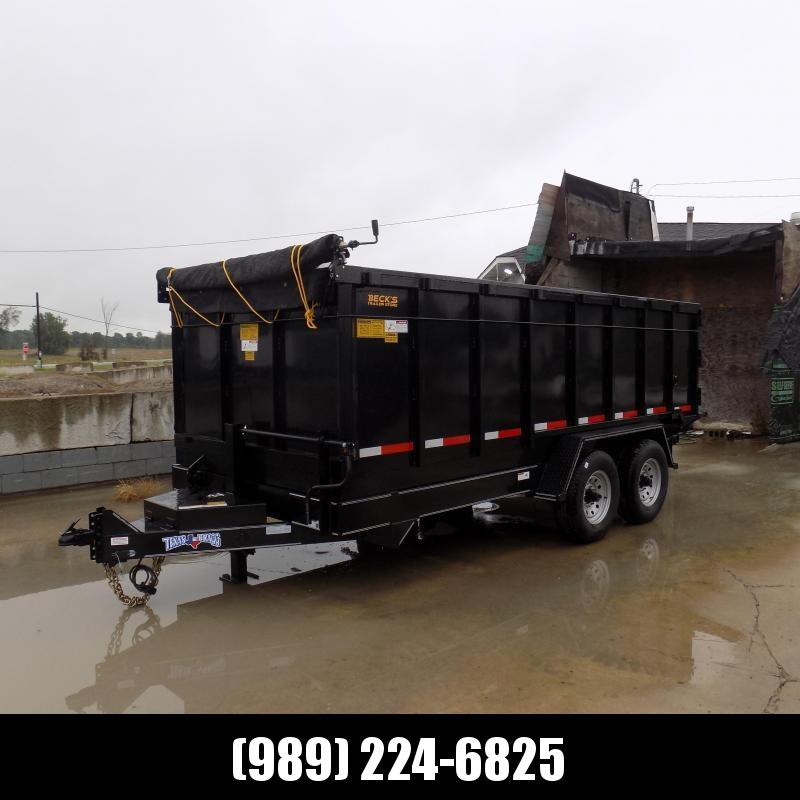 """New Texas Bragg 83"""" x 16' Dump Trailer for Sale - 48"""" Sides - $0 Down & Flexible Financing Options Available"""