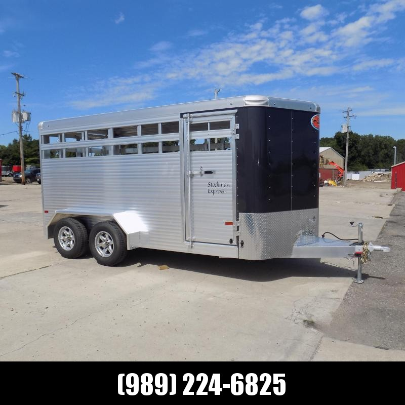 New Sundowner Trailers Stockman Express 16' Aluminum Stock Trailer For Sale - $0 Down Fnancing Available