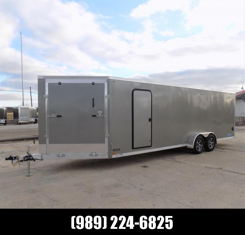 New Legend Thunder 7' x 29' Aluminum Snowmobile Trailer - $0 Down & Payments From $129/mo. W.A.C. - America's Largest Selection Of Snow Trailers
