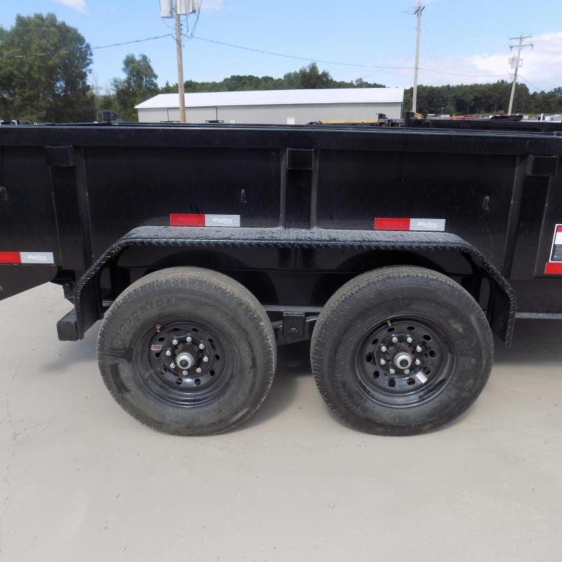 """New Big Tex 83"""" x 12' Low Profile Dump Trailer - $0 Down & Payments From $155/mo. W.A.C"""