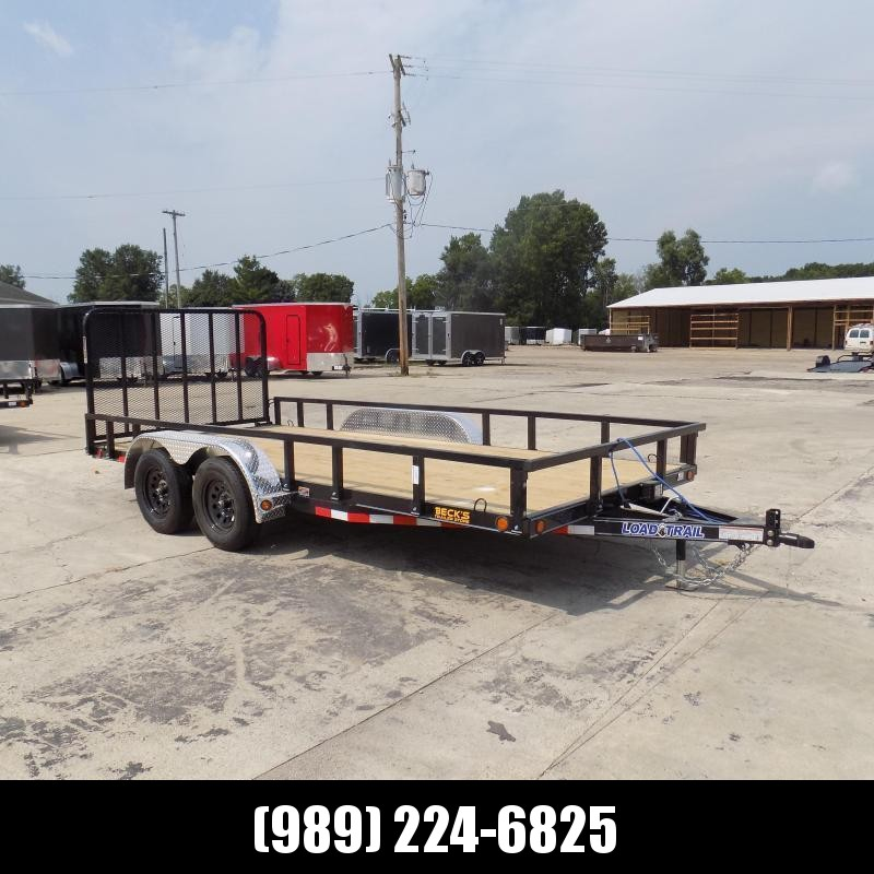 "New Load Trail 83"" x 16' Utility Trailer For Sale - $0 Down & Payments From $79/mo W.A.C."