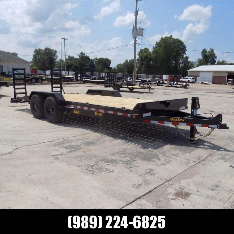 New Big Tex 7' x 20' Equipment Trailer For Sale - $0 Down & Payments From $119/mo. W.A.C.