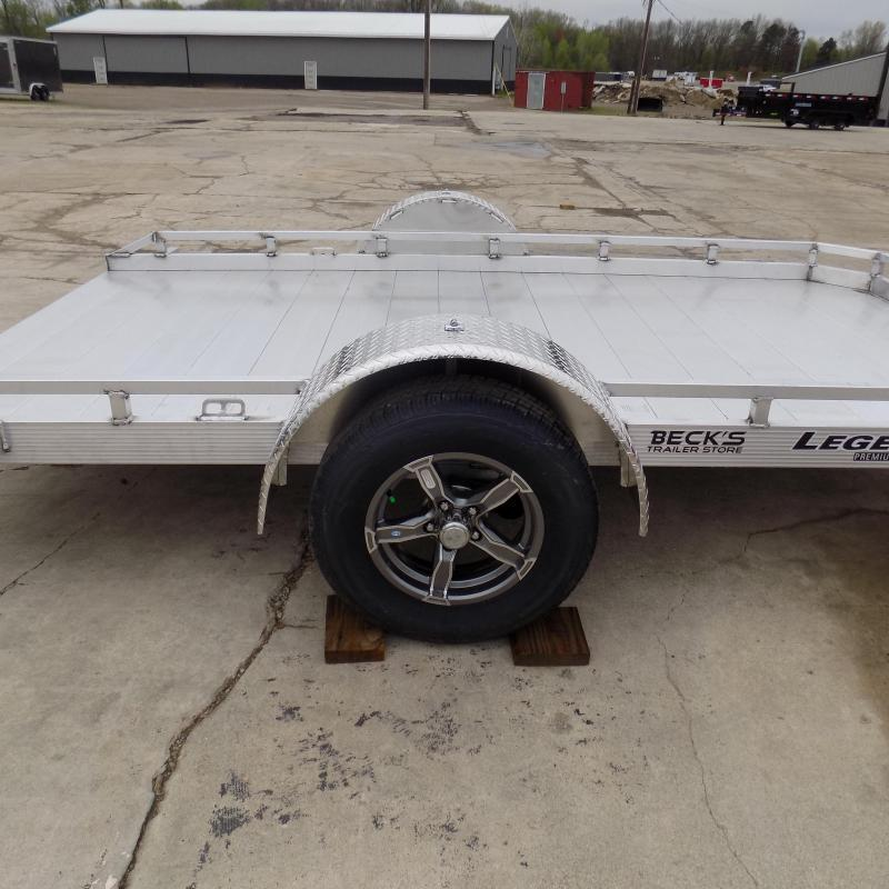 New Legend 7' X 12' Tilt Bed Equipment Trailer - Perfect for UTVS-ATVs-Golf Carts-Mowers & More - $0 Down & Payment From $79/mo. W.A.C.