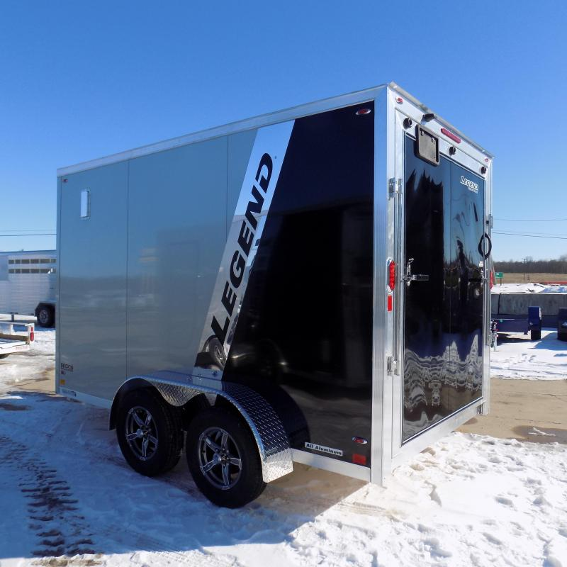 New Legend FTV 7' x 15' Aluminum Enclosed Cargo Trailer - Best Built Cargo Trailer - $0 Down & Payments From $115/mo. W.A.C.