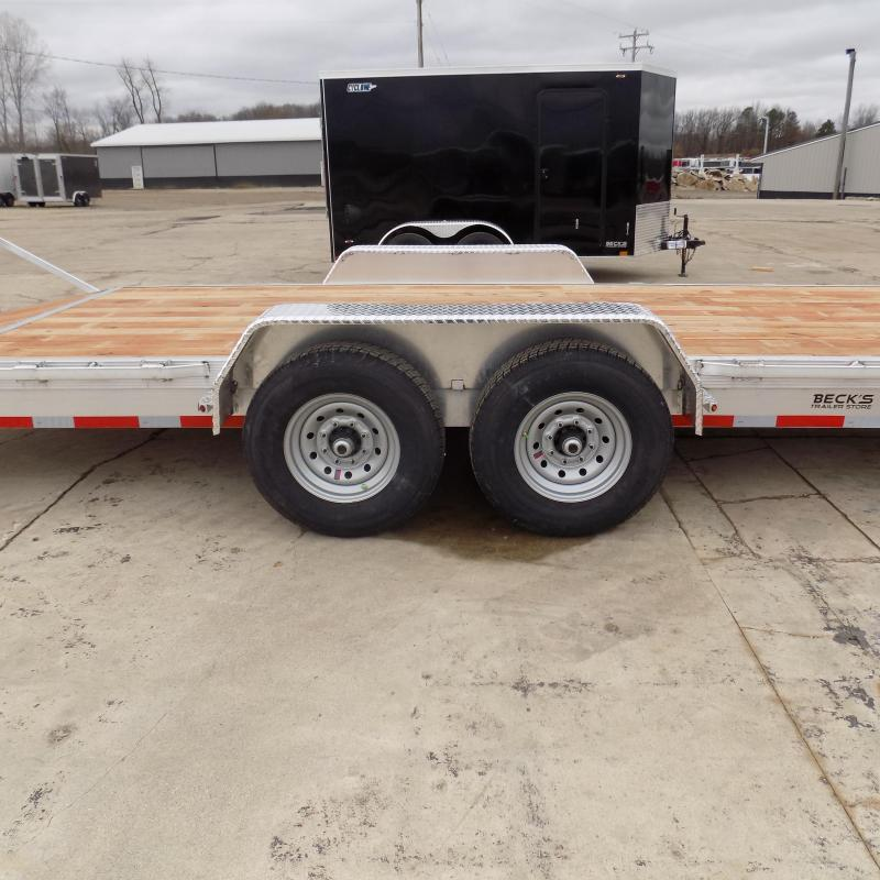 New Legend 7' x 24' Aluminum Equipment Trailer With 7K Torsion Axles - $0 Down & Payments from $119/mo. W.A.C