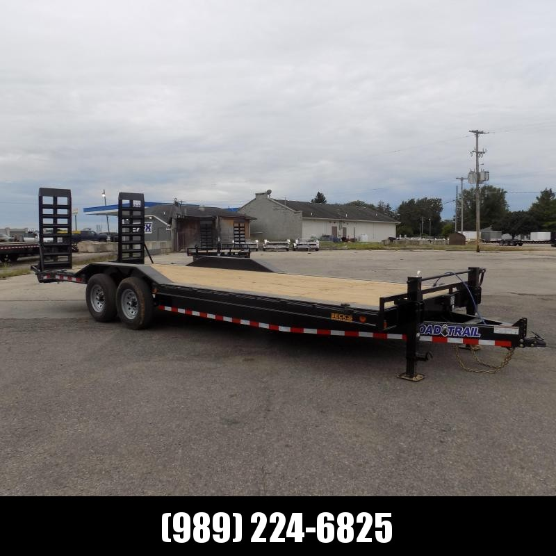 """New Load Trailer 102"""" x 24' Open Car Hauler/Equipment Trailer With 7K Axles - $0 Down & Payments from $119/mo. W.A.C."""